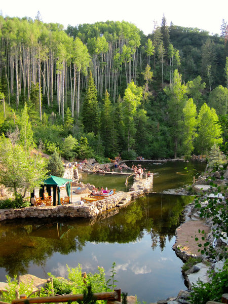 Steamboat Strawberry Hot Springs