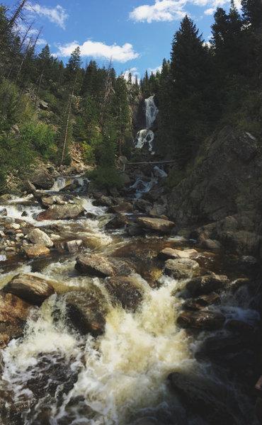 Fish Creek Falls!