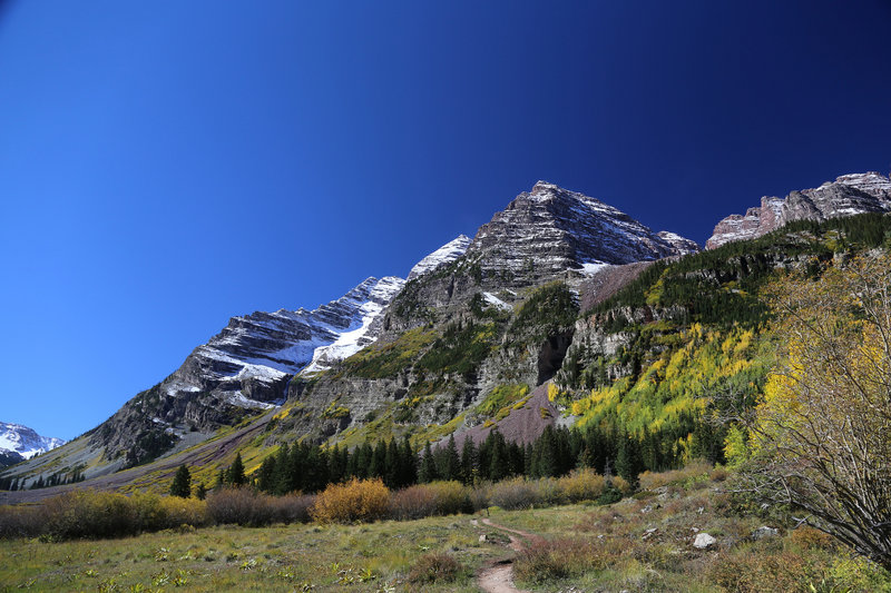 The awesome Maroon Bells
