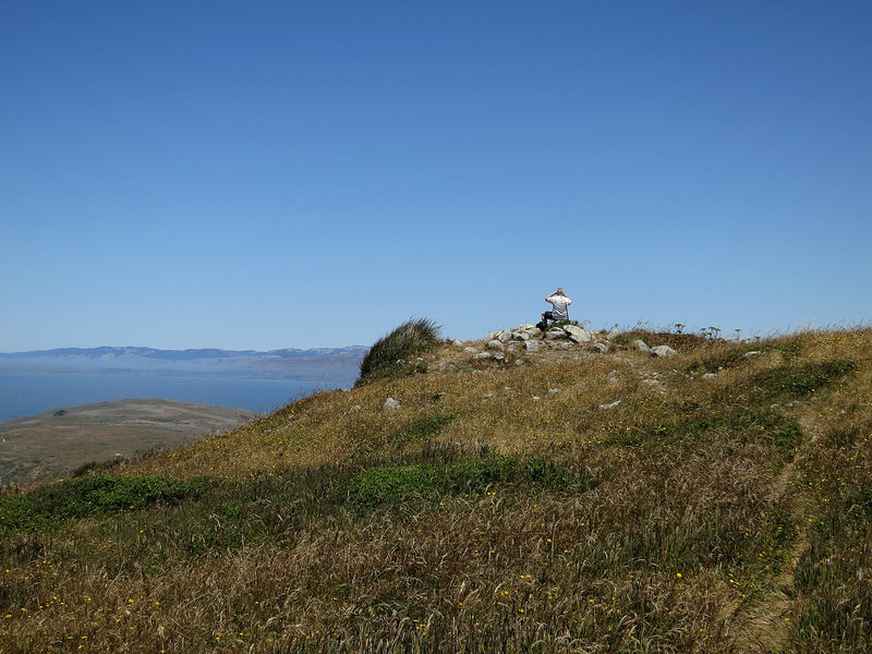 Sweeping views from Tomales Point Trail