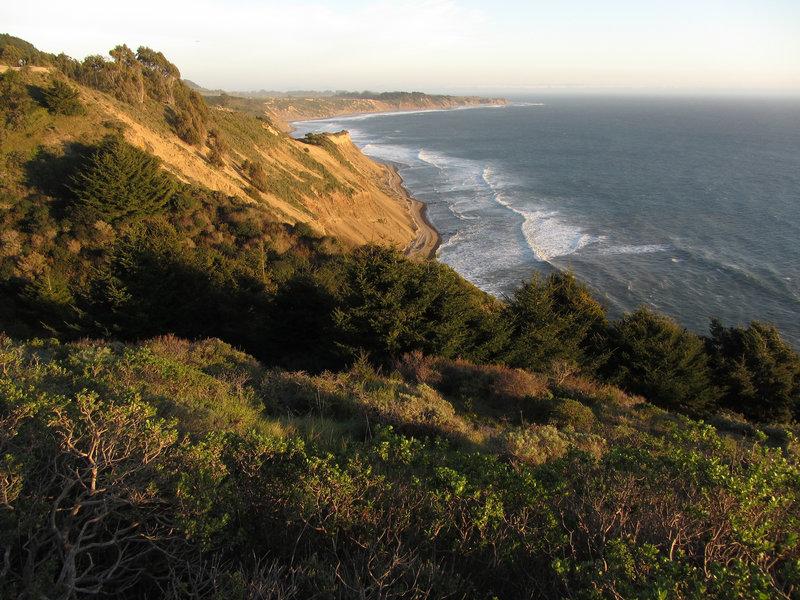 Wonderful views from Coast Trail South