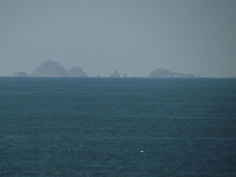 Farallones - about 20 miles offshore