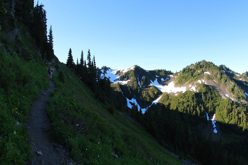 High Divide Trail, the reality begins!