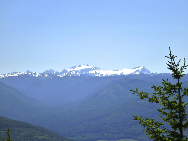 Sweet view from Mt. Muller's panorama point!
