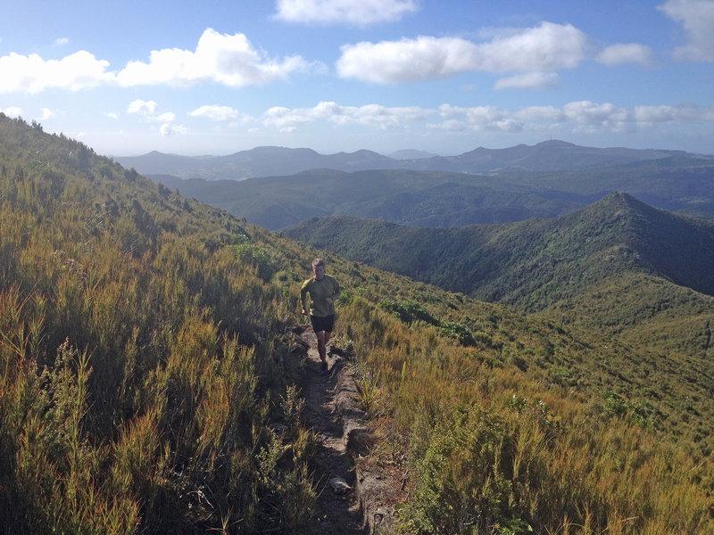 Non-stop views on Green Ridge.