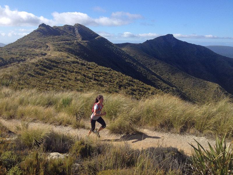 Great running on seemingly endless ridges.