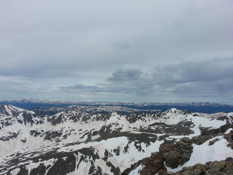 Quandary Peak summit view