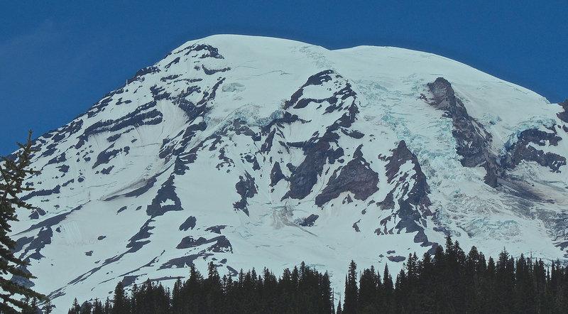 The formidable Mt. Rainier.