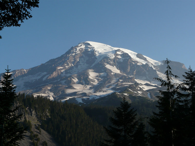 Mt. Rainer - clearly the focus of this park...