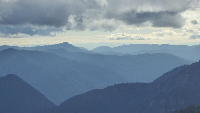 Mountains on mountains on mountains...