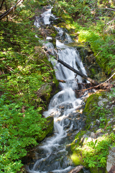 Mini-falls on the way