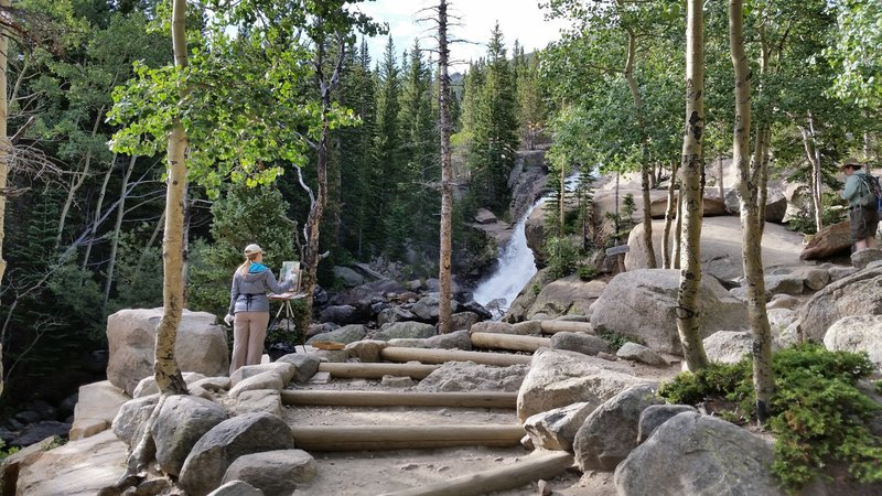 Approaching Alberta Falls