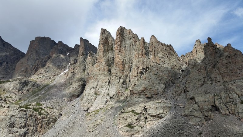 The Sharktooth from Sky Pond