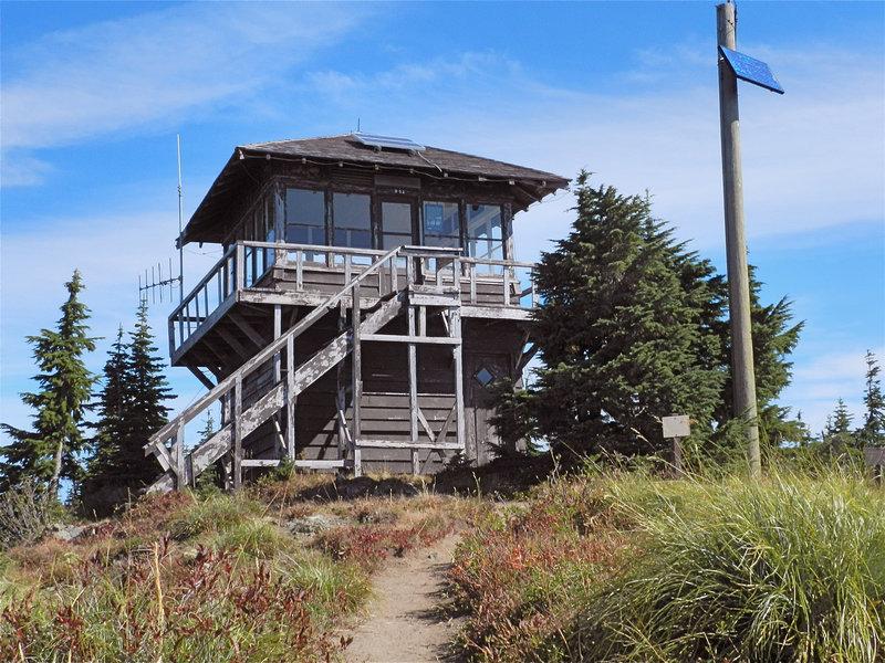 Shriner Peak lookout