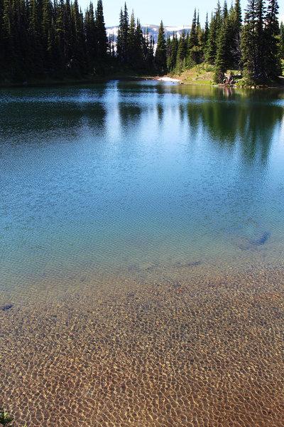 Subalpine lake: Shadow Lake