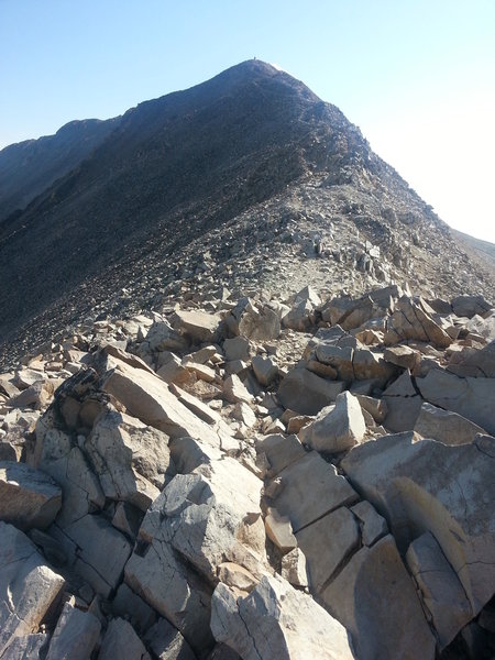 Mt Sherman ridgeline