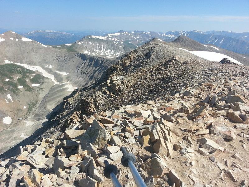 Mt Sherman summit