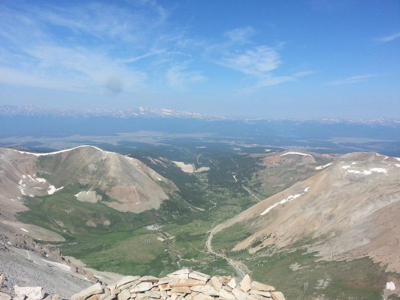 Mt Sherman summit view
