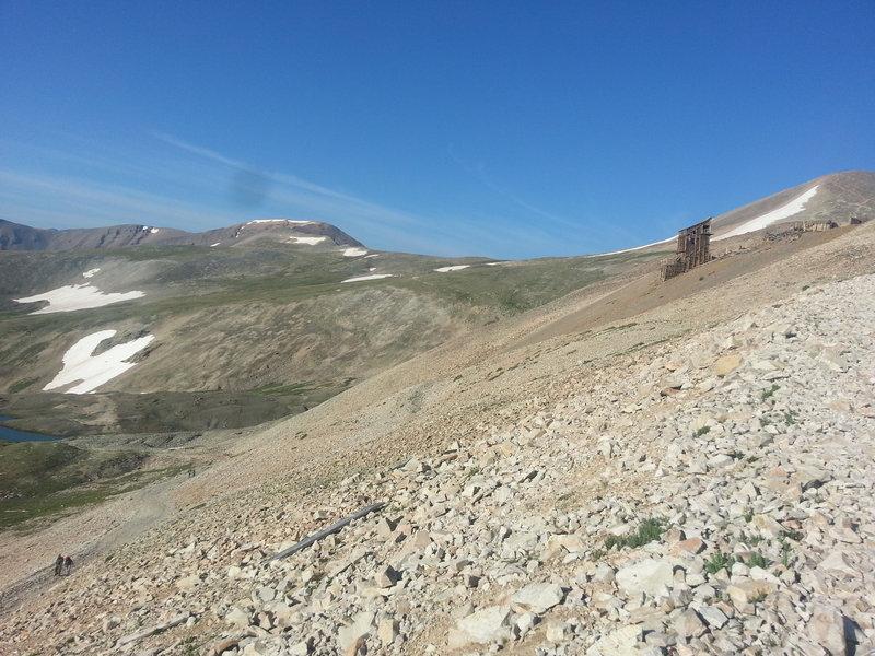 Passing by Mt Sherman's Dauntless Mine