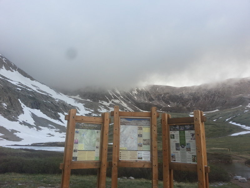 Kite Lake Trailhead
