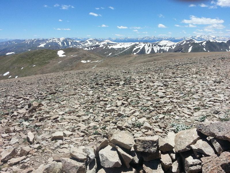 Mt Bross summit