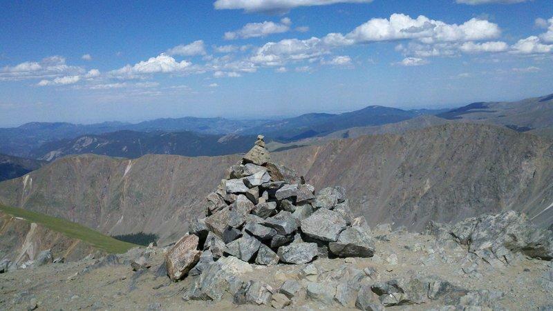 Torreys Peak summit view