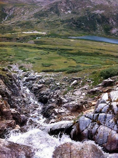 Stream to Kite Lake