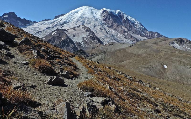 Mt Rainier and Third Burroughs Mt