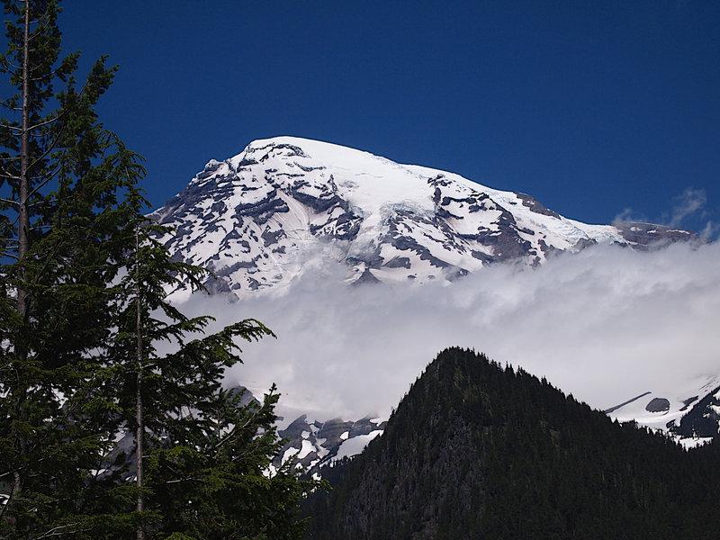 Mount Rainier from Longmire.