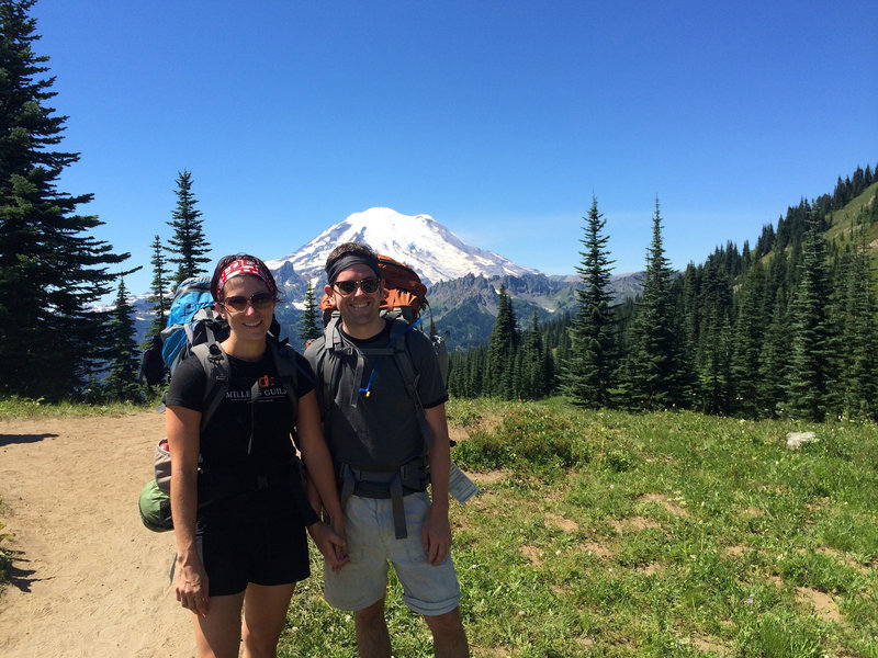 Dewey Lake and Rainier.