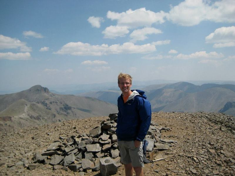San Luis Peak basks in the glory of one of the five people to summit all points above 14,000 ft in Colorado.