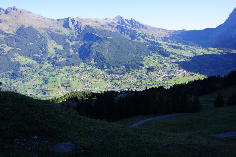 Oh, little town of Grindelwald...
