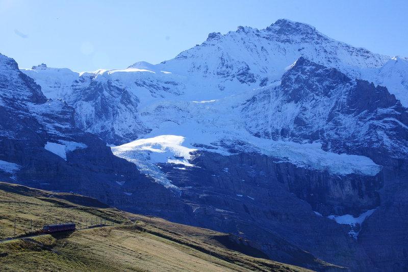 Pristine view form Kleine Scheidegg