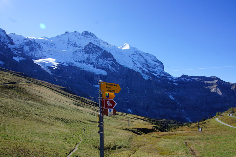 The view from Kleine Scheidegg