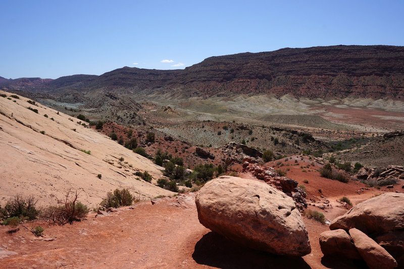 Preliminary views from the Delicate Arch Viewpoint Trail