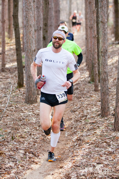 The Pines, Black loop, Hurt the Dirt trail race