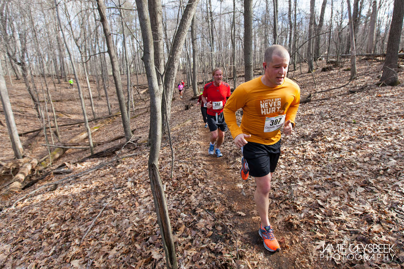 Red loop, Hurt the Dirt trail race