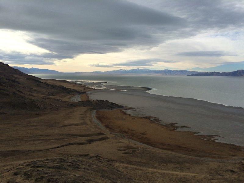 View of Split Rock Bay from Elephant Head Trail