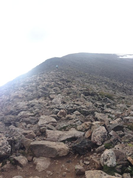 A glimpse into the rocky terrain you'll be managing!