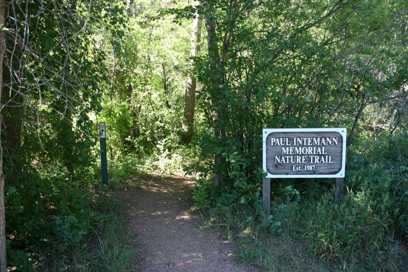 Intemann trailhead at Crystal Park Road