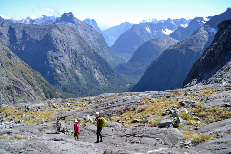 The slopes above Gertrude Saddle offer great chances for exploration.