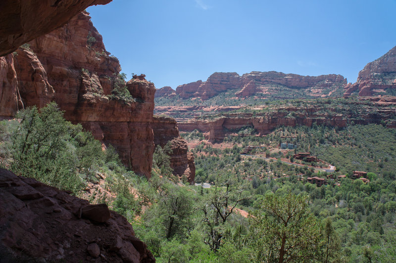 Boynton Canyon from the Aerie Trail