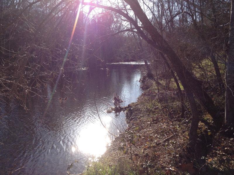 Big Chico Creek from South Rim Trail