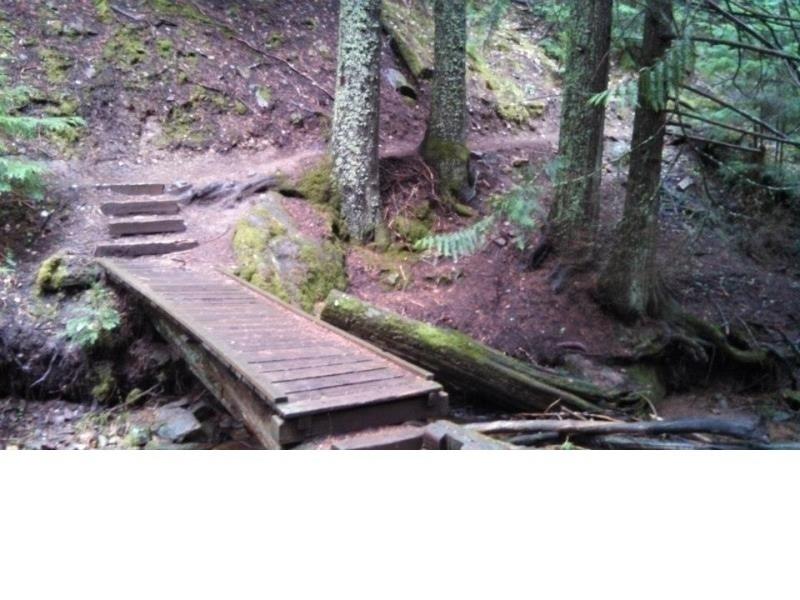 Cedar Grove, now the climbing starts!