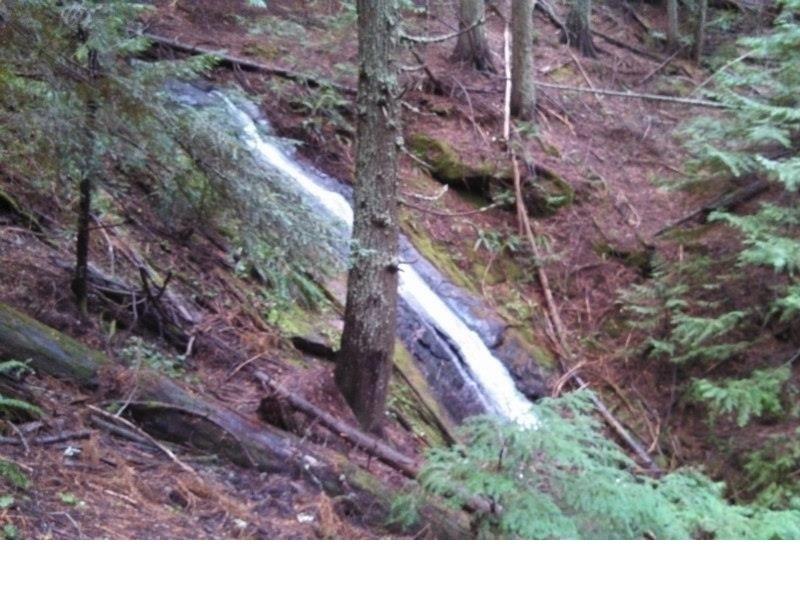 Waterfall on Liberty Lake Loop