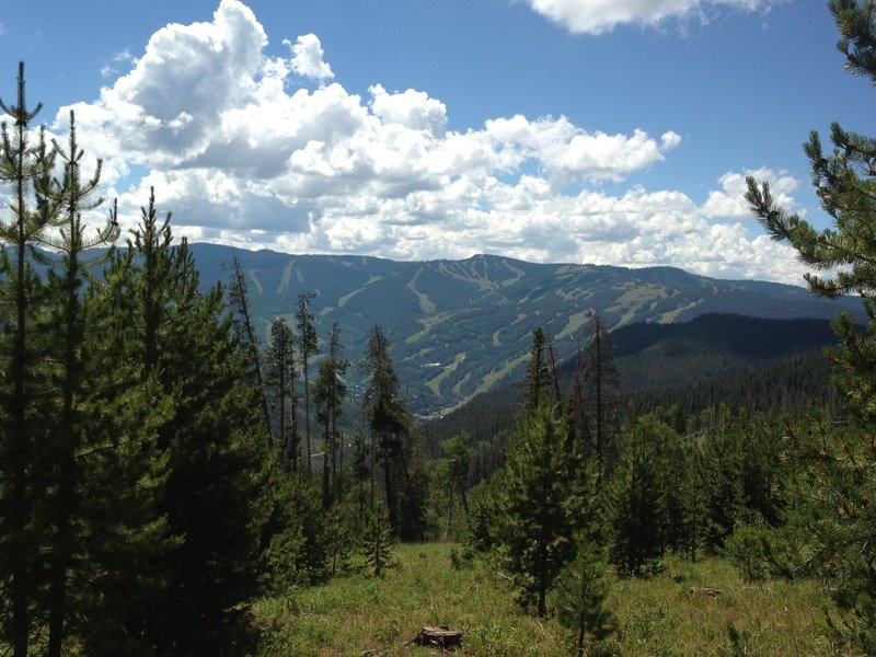Cool view of Vail.