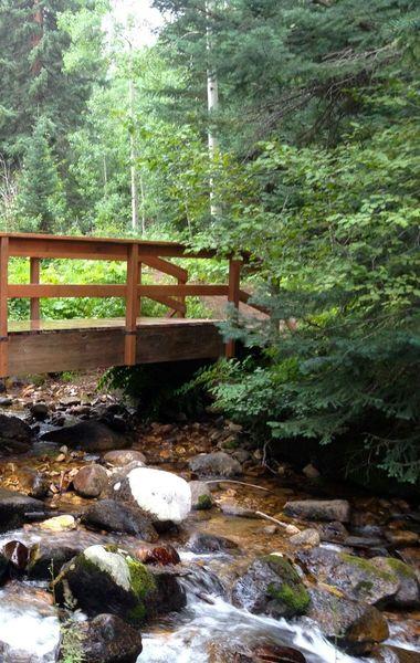 New bridge over Beaver Creek