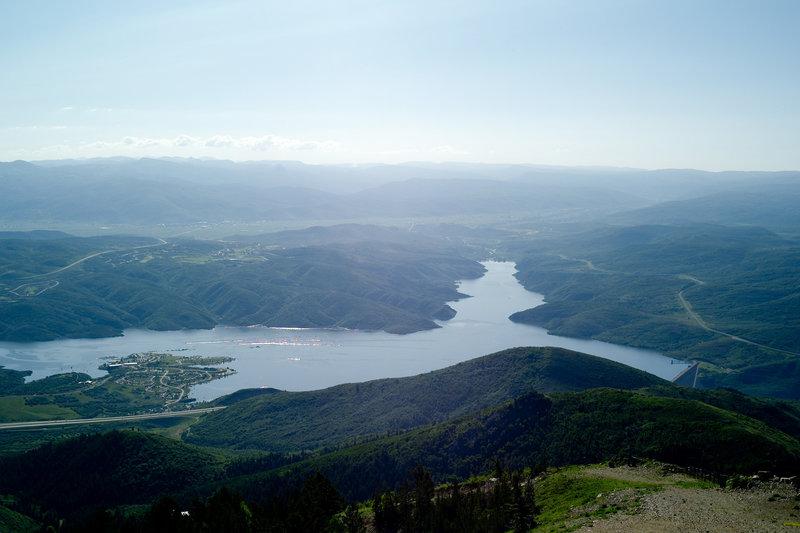 Views of Jordanelle Res.