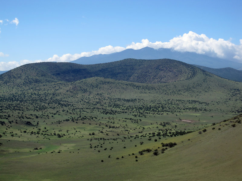 Colton Crater and the San Francisco Peaks