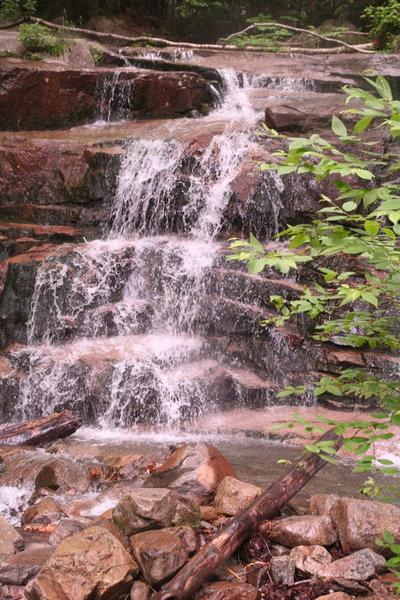 Climbing Falling Waters Trail